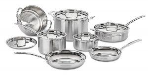 Cuisinart MCP- 12N Multiclad 12-piece Cookware Set
