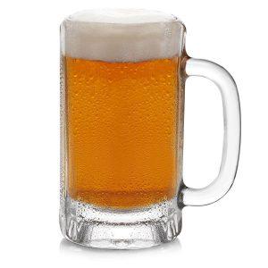 Libbey Heidelberg Glass Beer Mugs