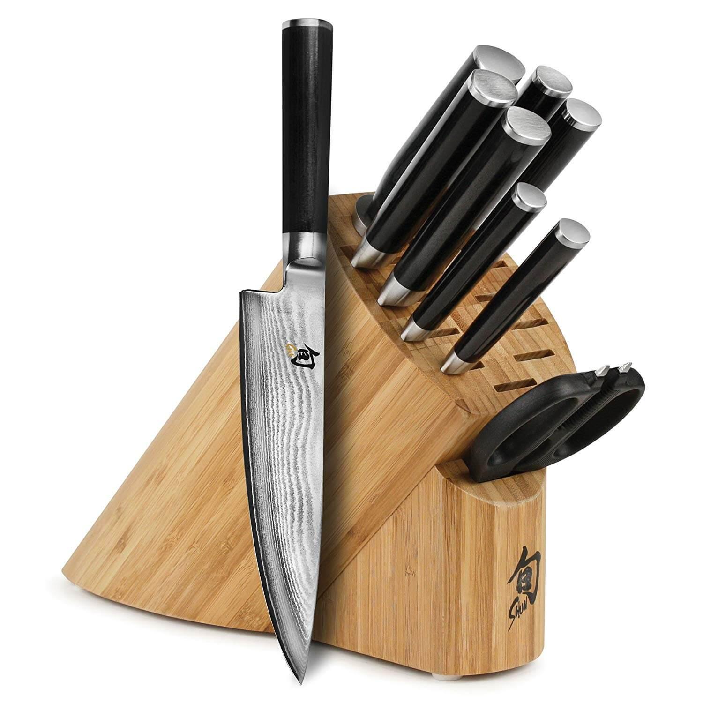 Shun Classic Knife Block Set