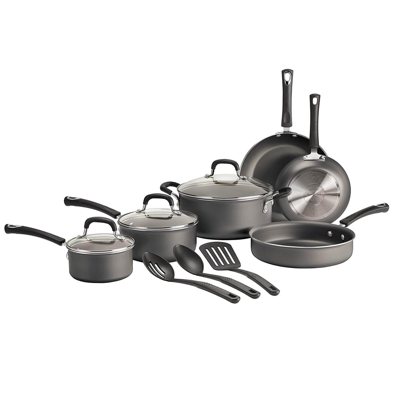 Tramontina 80143 600 12 Piece Select Aluminum Non-Stick Cookware Set