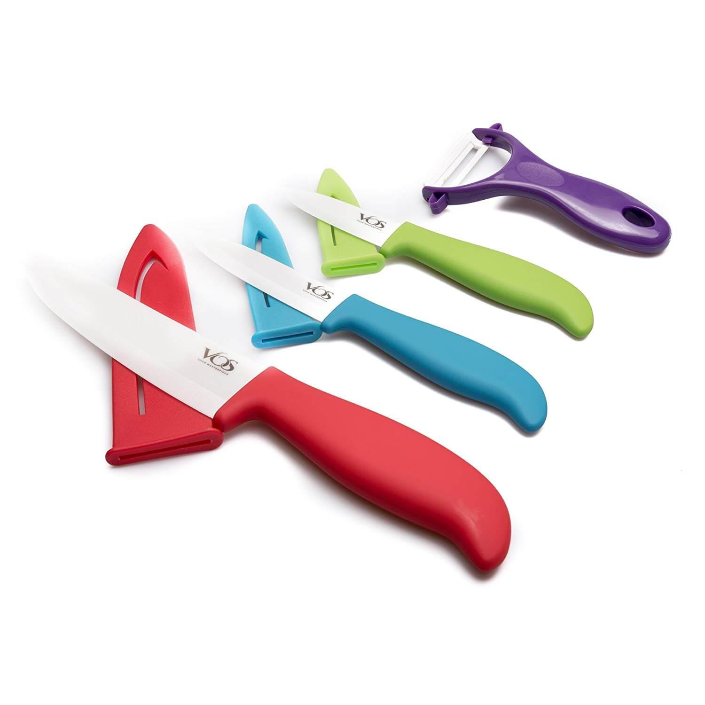 Vos Seven Piece Ceramic Knife Set