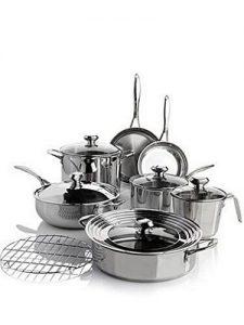 Wolfgang Puck Bistro Elite 13 Piece Cookware Set