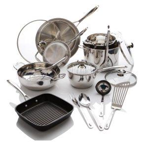 Wolfgang Puck Bistro Elite 17-piece Cookware Set
