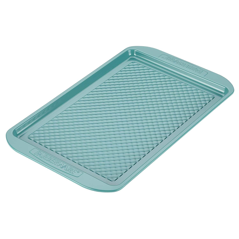 Farberware purECOok Hybrid Ceramic Non-Stick Baking Pan (Aqua)