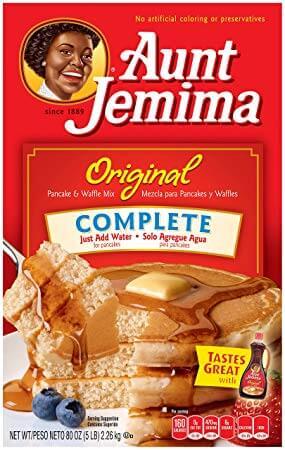 Quaker Aunt Jemima Pancake & Waffle Mix