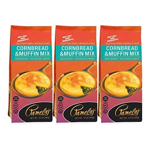 Pamela's Gluten Free Cornbread and Muffin Mix