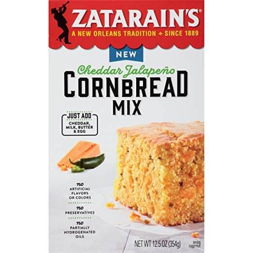 Zatarains Cheddar Jalapeno Cornbread Mix