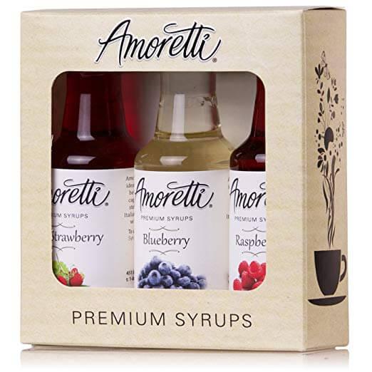 Amoretti Premium Berry Syrups