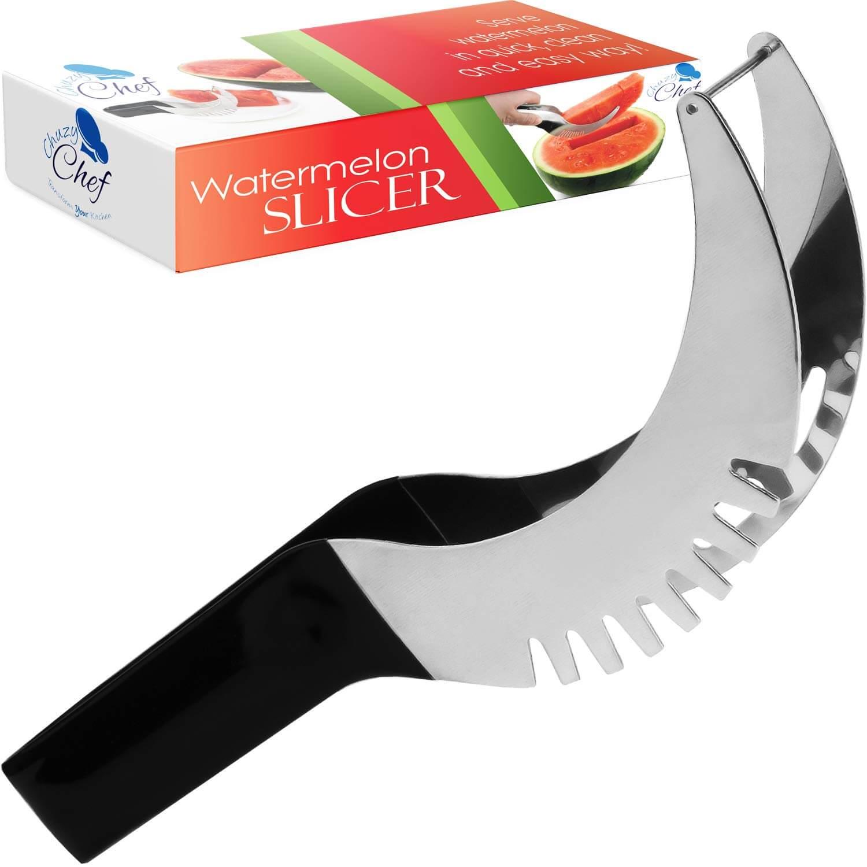 Chuzy Chef Watermelon Slicer Cutter Corer & Server