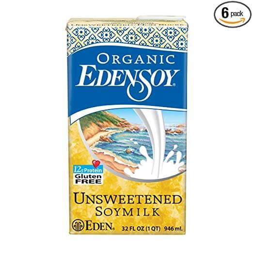 Eden Soymilk Unsweetened Organic