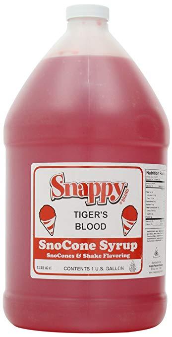 Snappy Popcorn Snow Cone Syrup