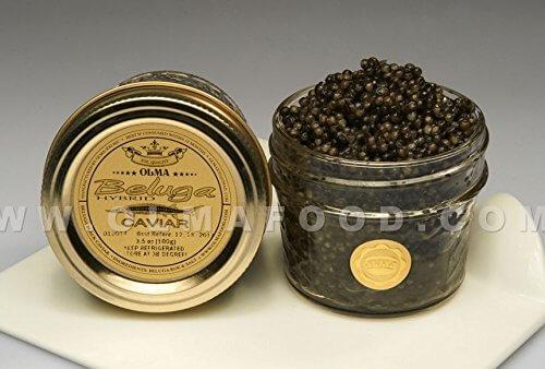Olma Beluga Sturgeon Hybrid Caviar