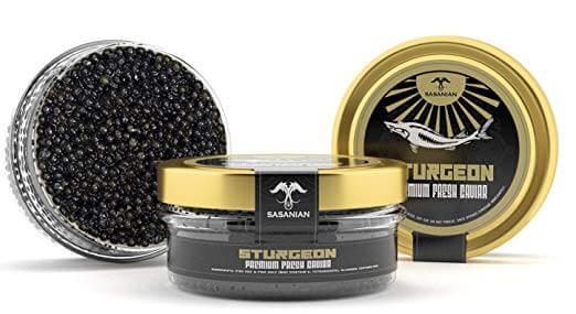 Sasanian Sturgeon Osetra Caviar