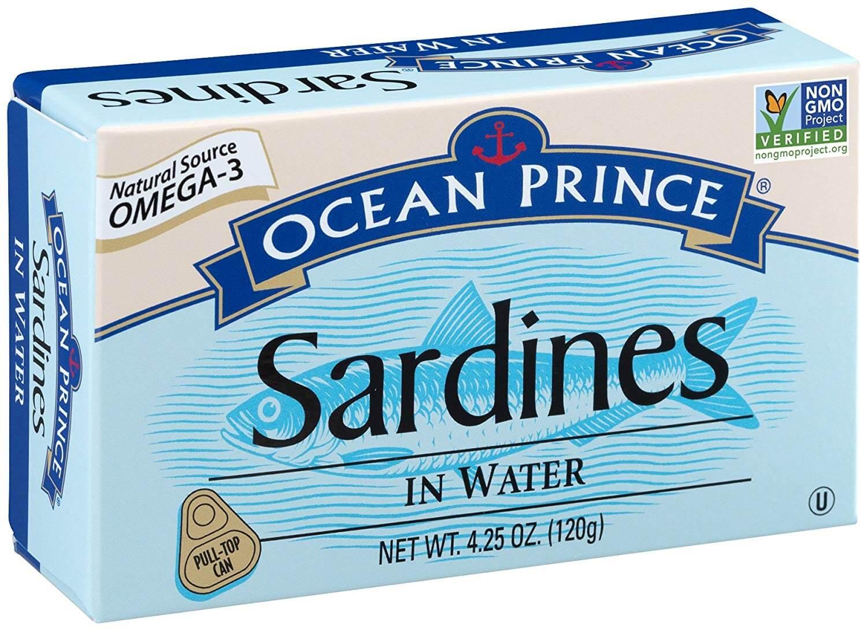 Ocean Prince Sardines in Water