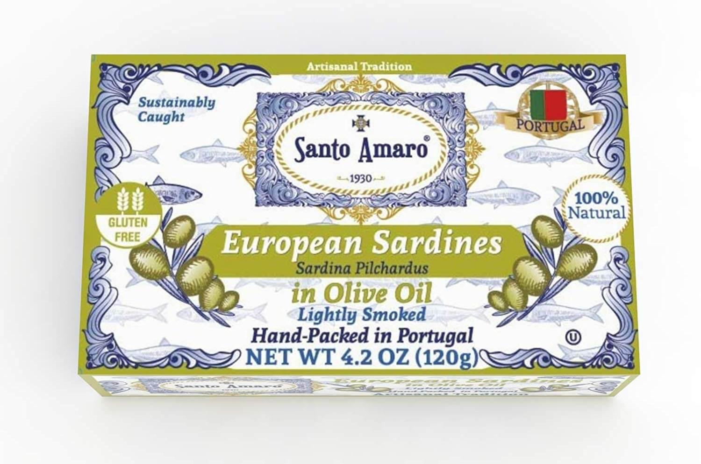SANTO AMARO European Wild Sardines